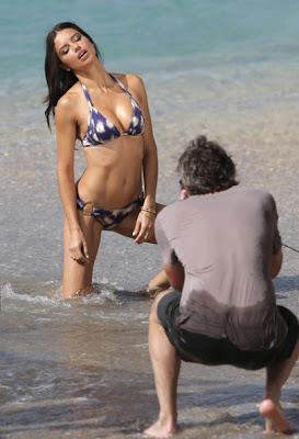 Adriana Lima Shows Off Her Bikini Body