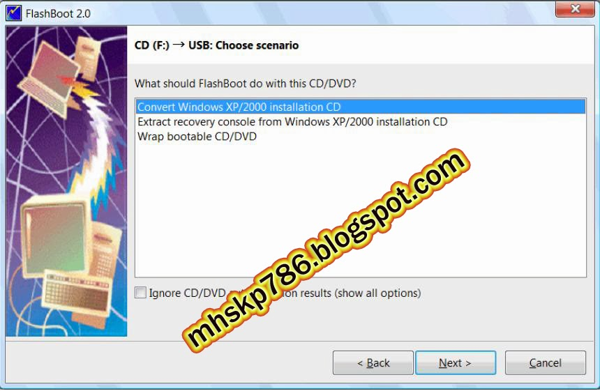 how to make bootable dvd using poweriso step by step