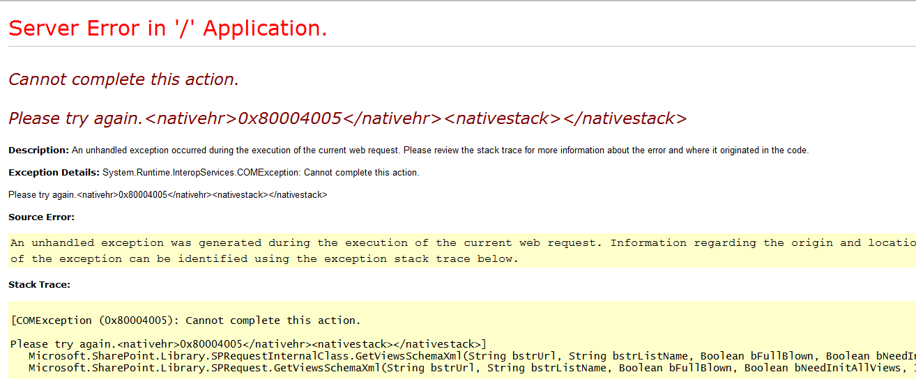 Now When You Run Your Application And Its Broken Will See Error Like This