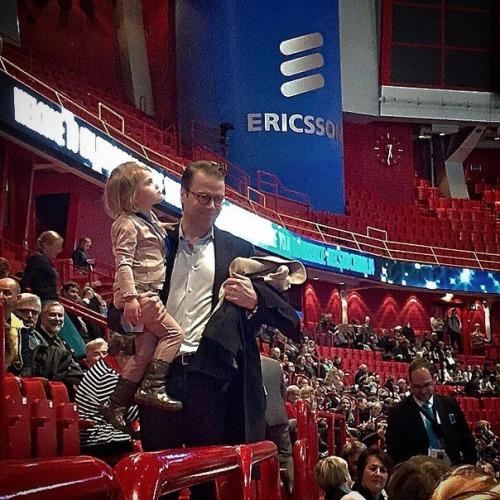 Crown Princess Victoria of Sweden, Prince Daniel and Princess Estelle