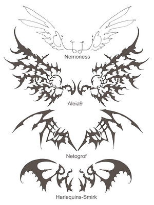 wings tattoo. the wings tattoo designs.