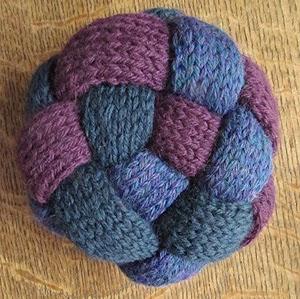 Flat Knot Knitting Stitch : Acorn Cottage Artisanry: December 2013