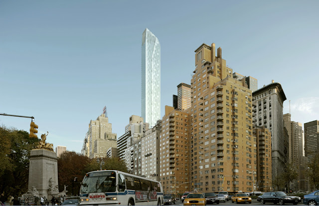 Photo of One57 as seen from the Columbus Circle