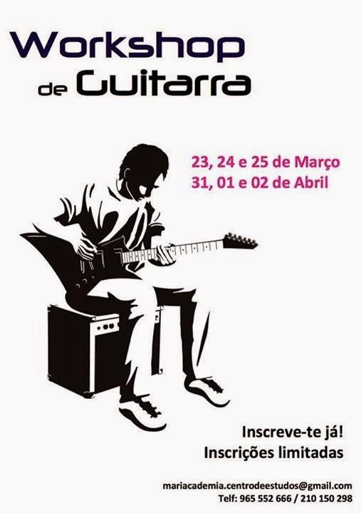 Workshops de música: Guitarra e Bateria – Oeiras