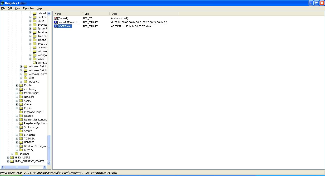 microsoft windows xp license key