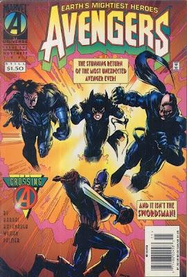 Avengers 392 Cover