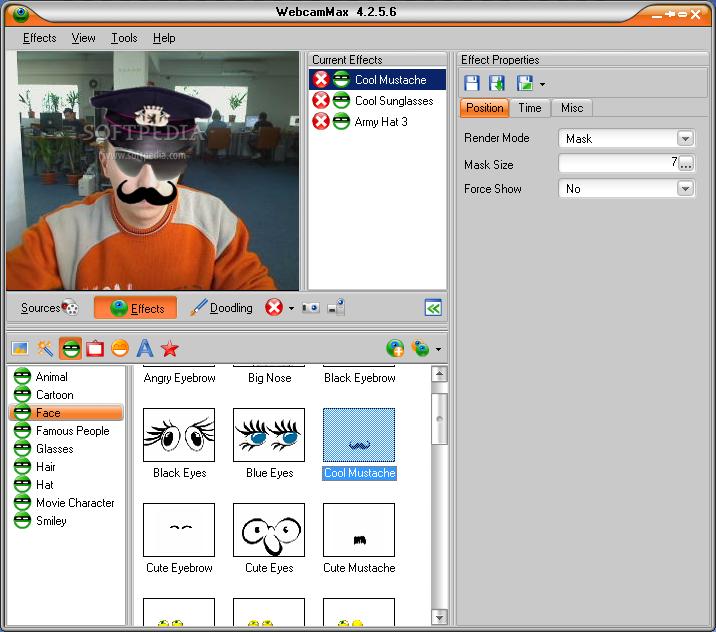 Webcam add topic