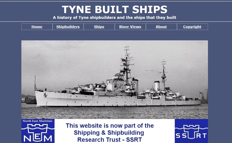 TYNE BUILT SHIPS