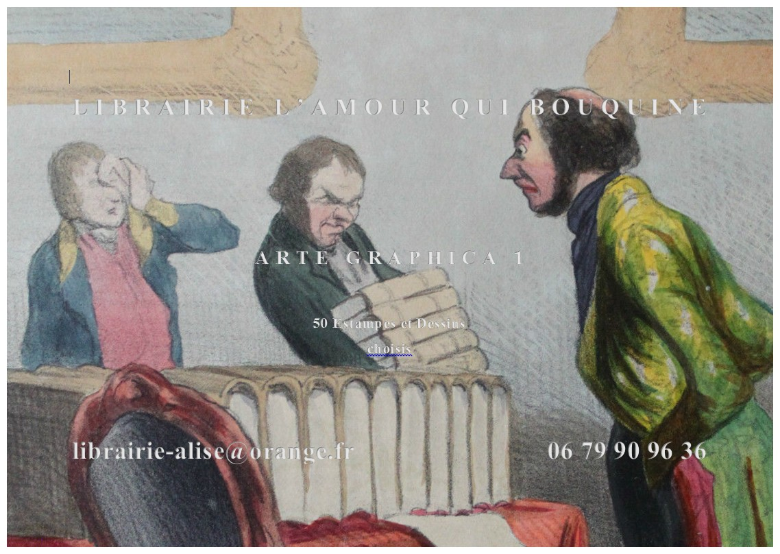 CATALOGUE ARTE GRAPHICA I