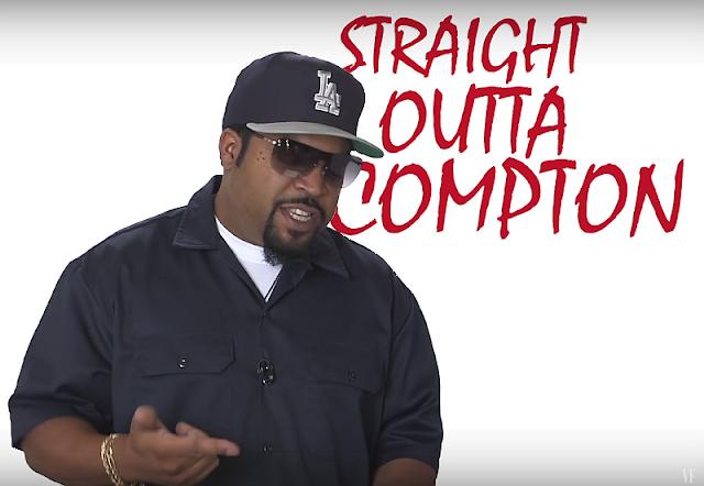 Ice Cubes unterhaltsame Falsifizierung der Rap-Genius Fan-Interpretationen von Straight outta Compton