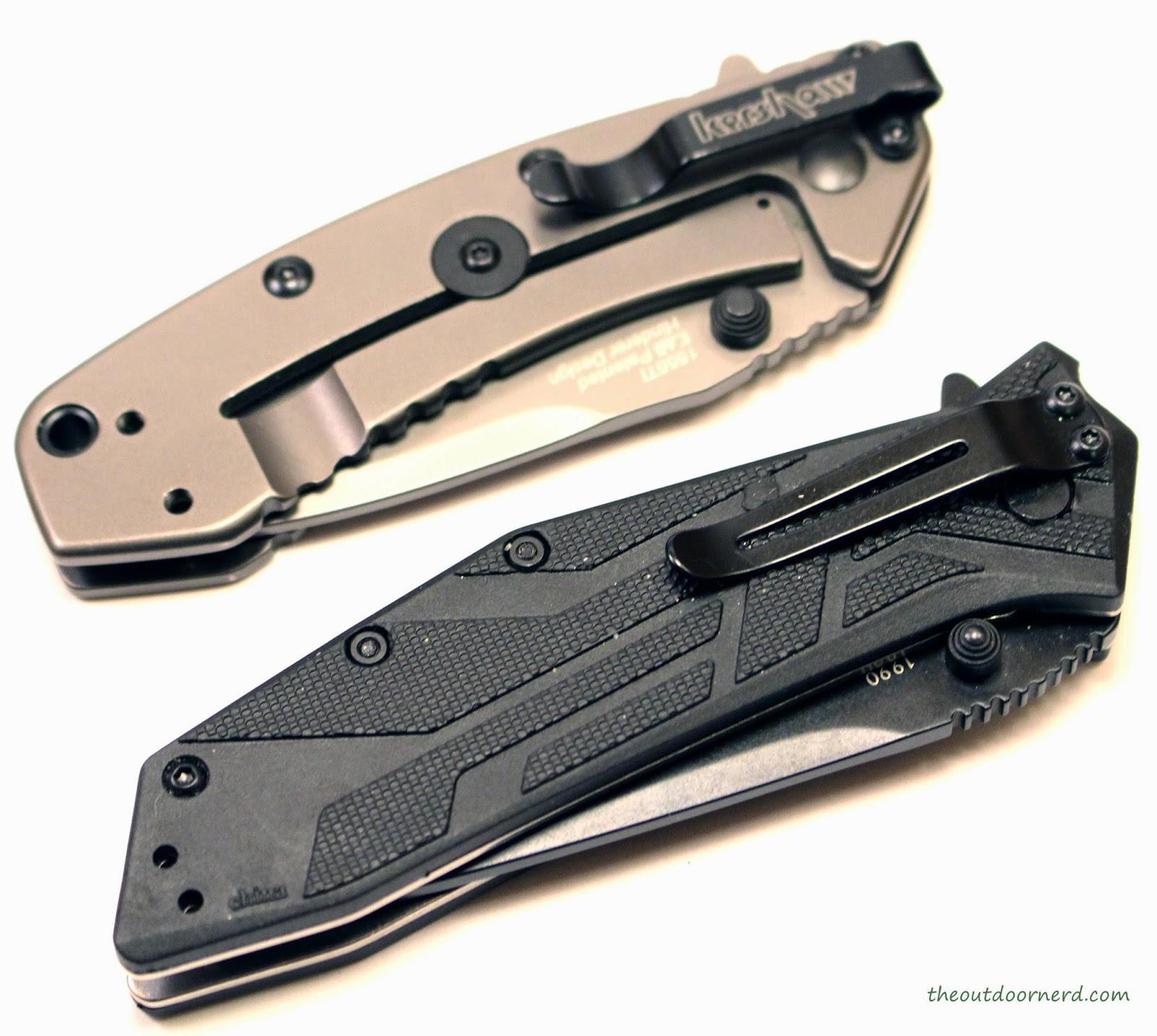 Kershaw Brawler Pocket Knife With Cryo 1