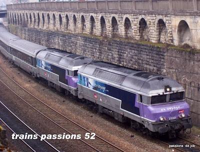 CC 72100 en UM / GARE DE CHAUMONT