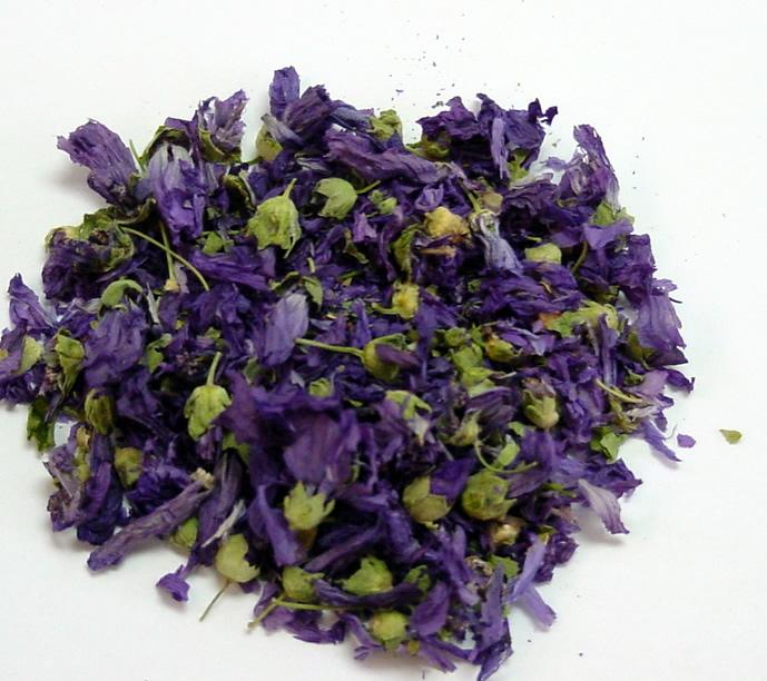 how to make blue mallow tea