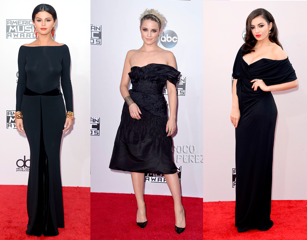 vestido, preto, look, American Music Awards, 2014