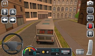 Screenshots of the Bus simulator 2015 for Android tablet, phone.