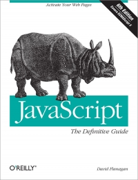 JavaScript: The Definitive Guide front cover