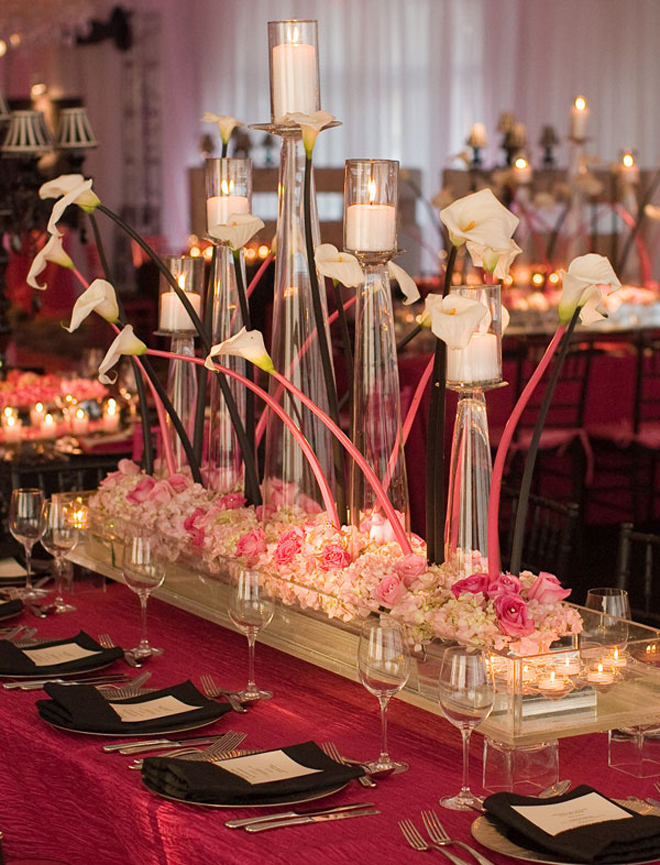 25 stunning wedding centerpieces part 6 belle the magazine for Bridal table arrangements