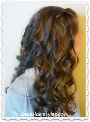 Curling Wand Curls, Video Tutorial