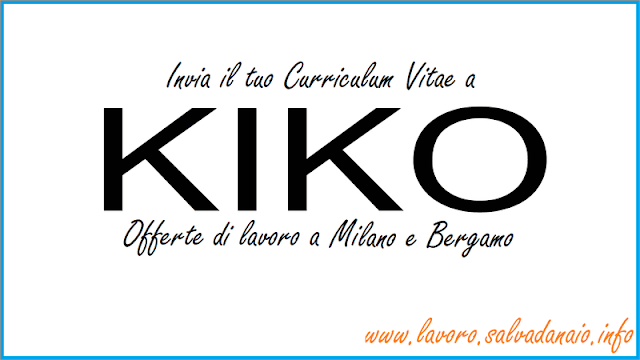 kiko-offerte-lavoro-milano-bergamo