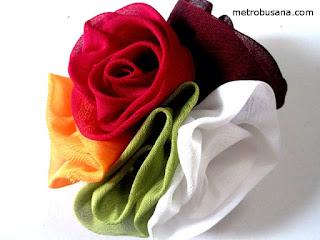 bros bunga kain sifon 5 warna
