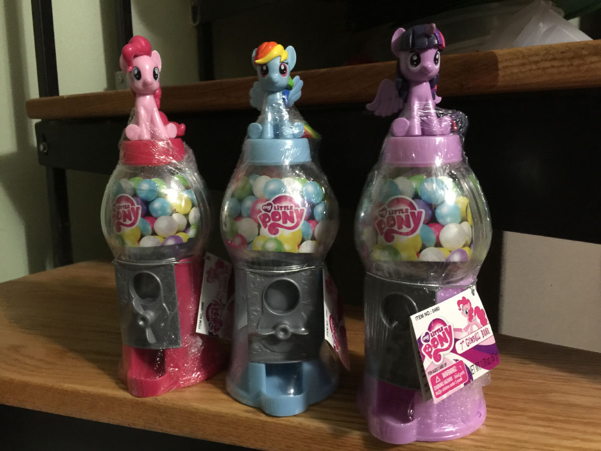 My Little Pony Gumball Machine