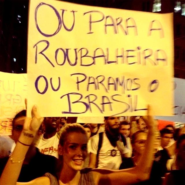 Resultado de imagem para o povo vai as ruas reforma política