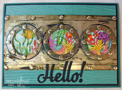 Properties: Our Daily Bread Designs, Deep Waters, Hello, by Robin Clendenning