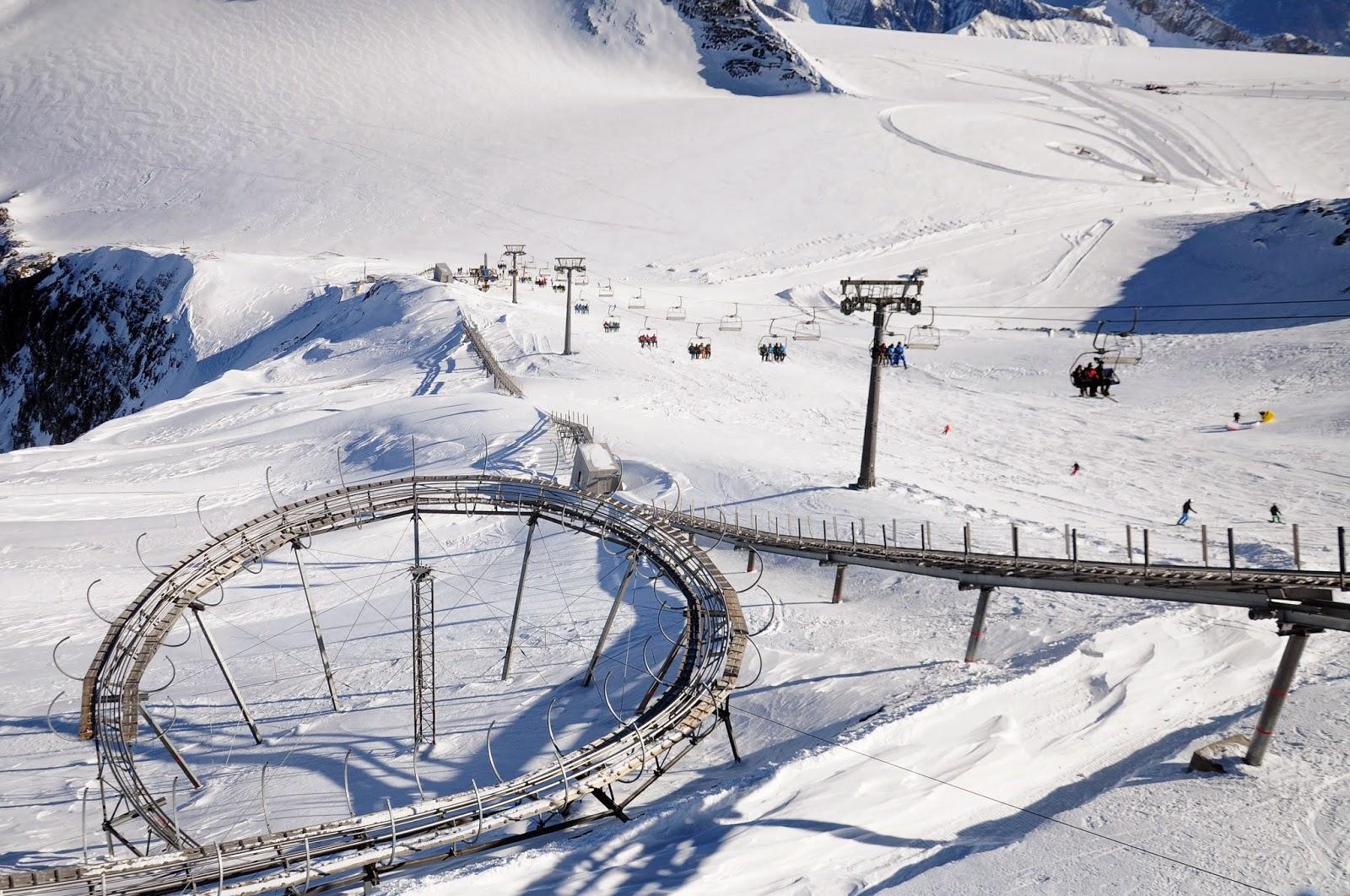 glacier 3000 roller coaster