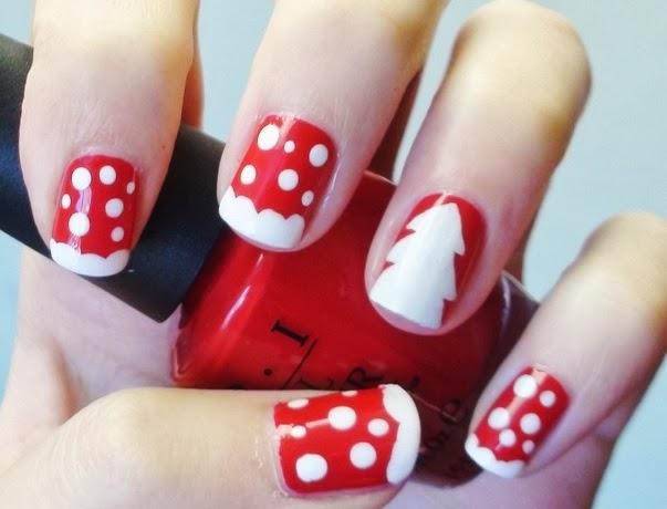 Nail Art Natale Tante Idee Per Una Manicure Natalizia also Panda Nail ...
