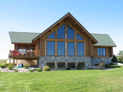 News and announcements from jack log home styles by for Modular a frame homes