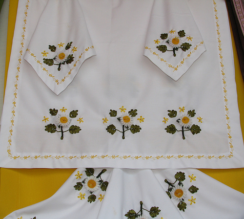 New ribbon embroidery knitting gallery
