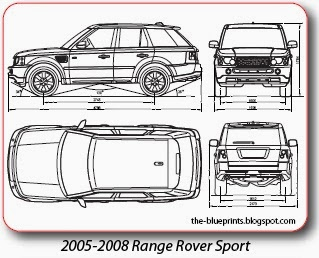 Vector Blueprints - Cars, Trucks, Busses and others: Land Rover ...