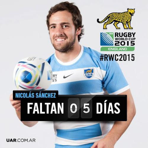 Countdown: faltan 5 días para el inicio de la #RWC2015