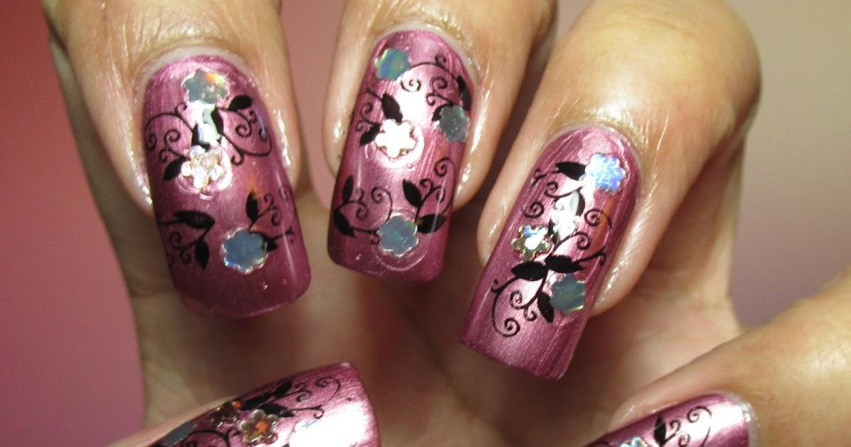 Effie Trinket Nail Designs