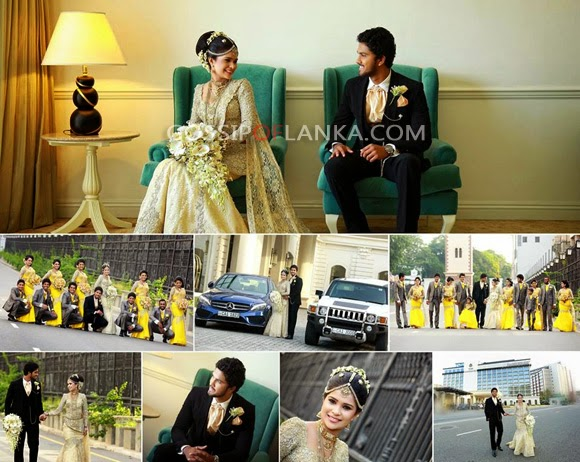 Dinesh Chandimal wedding day