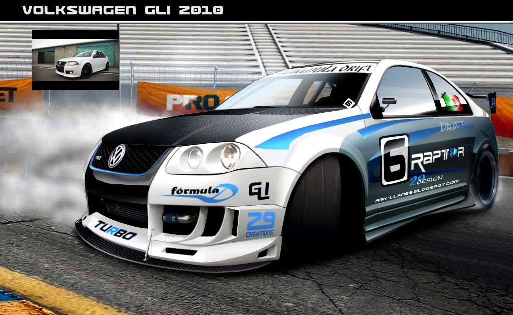 Virtual Tuning Design By Ark Llanes Vw Jettal Gli 2010