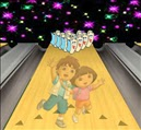 Dora Playing Bowling