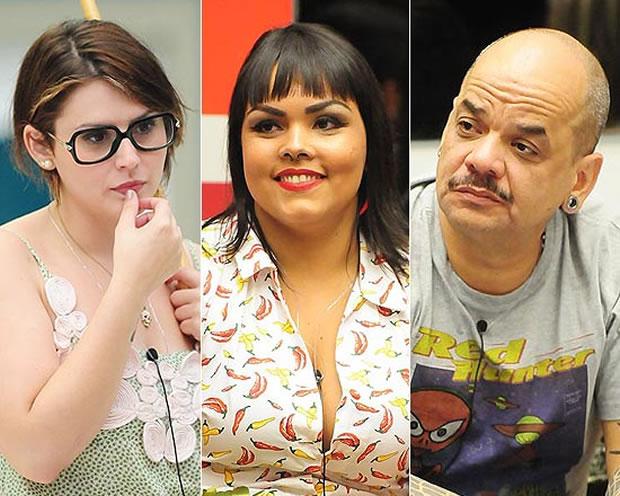 Mayara, Analice e João Carvalho (Foto: Frederico Rozário/TV Globo)