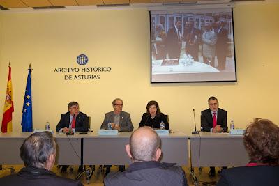 Inauguración de la exposición filatélica FESOFILLA