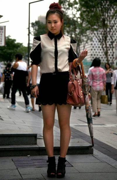 P St Varpaisiin Inspiraationa Korean Street Style