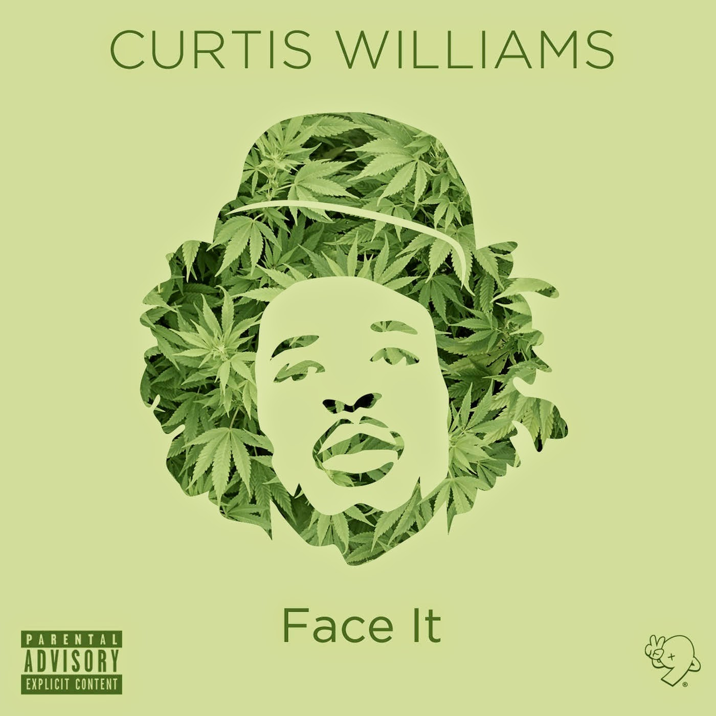 Curtis Williams - Face It - Single Cover