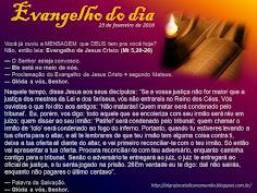 EVANGELHO DO DIA - FEVEREIRO 2018