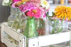 DIY Flower Crate