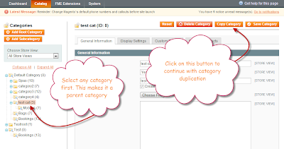 magento copy category