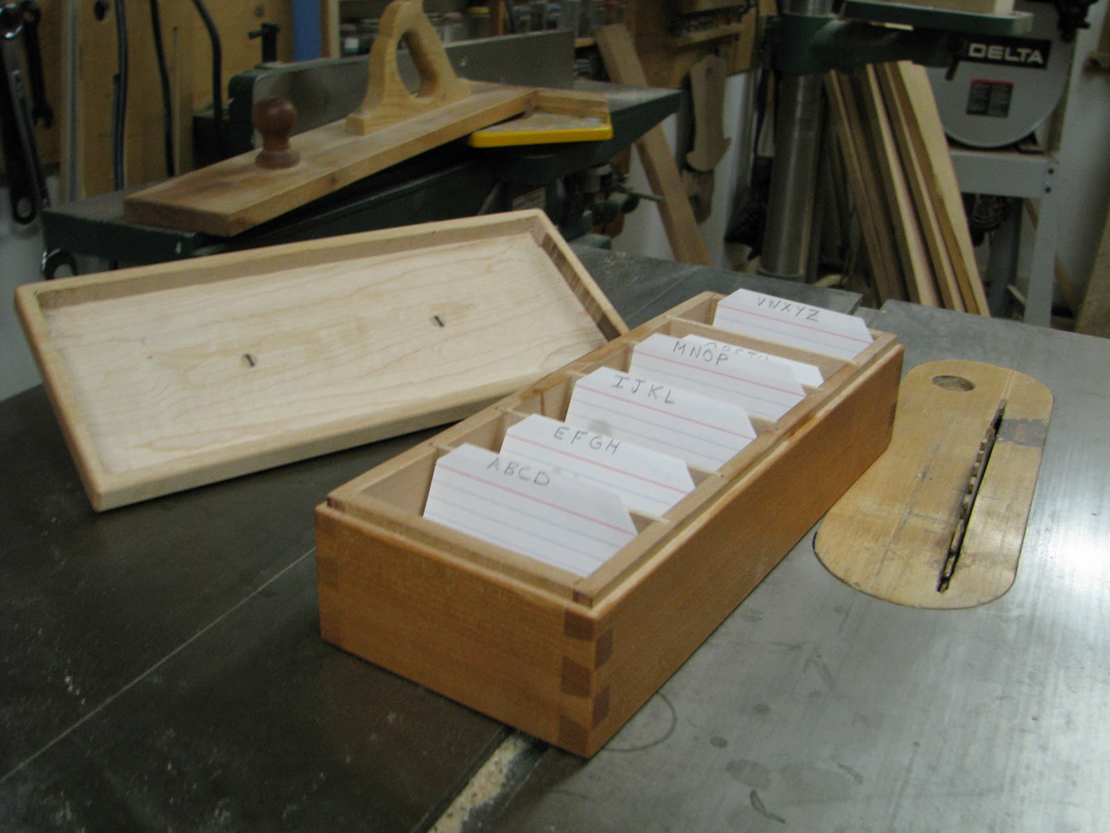 Wooden Business Card File Box Gallery - Card Design And Card Template