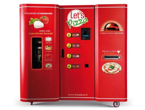 Maquina para fazer pizza.