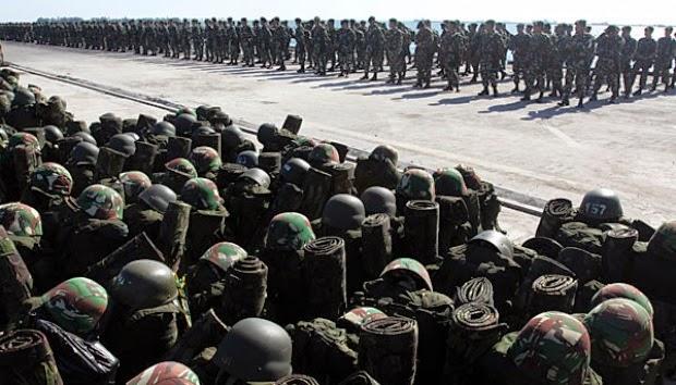 TNI Tambah 2 Batalion Personel di Perbatasan RI-Malaysia