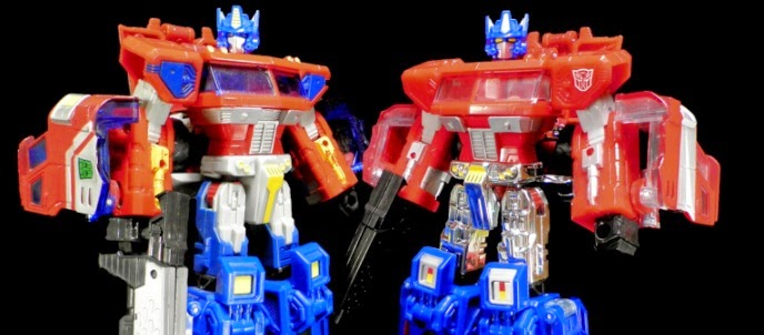 Age Of Extinction Evolution 2-pack Classics Optimus Prime