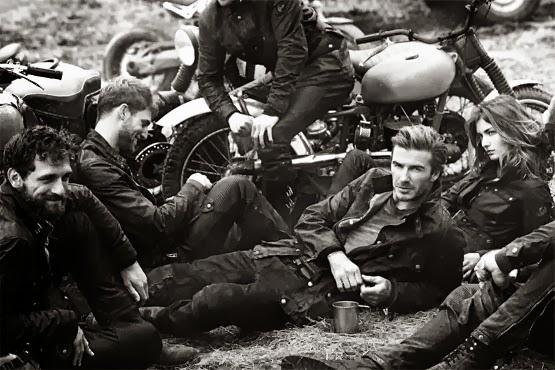 David Beckham para Belstaff campanha primavera verão 2014