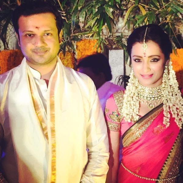 Trisha Krishnan engaged with Varun Manian